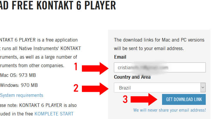 Download do Native Access