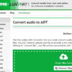 Site Para Converter MP3 Para AIFF