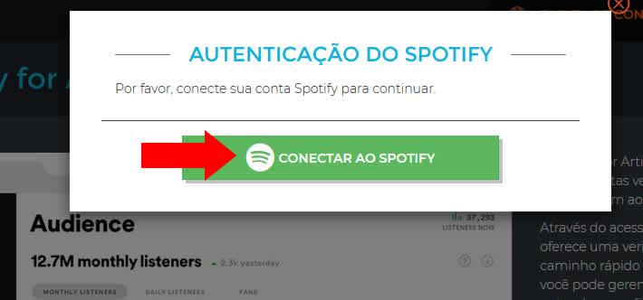 Conectando Spotify